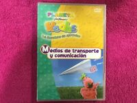 HOOBS DVD JIM HENSON NUEVO NEW PLANETA JUNIOR PRECINTADO MEDIOS DE TRANSPORTE