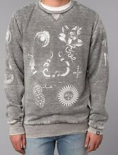 Urban Outfitters Insight Dead Beat Crew Pullover Graphic Sweatshirt Mens S NWT