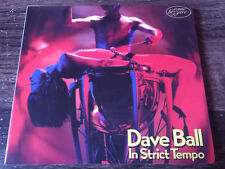 DAVE BALL - In Strict Tempo CD Synth Pop / Experimental UK
