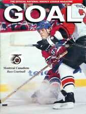 Mar. 28, 1992 Pittsburgh Penguins v Montreal Canadiens Game Program Vintage Rare