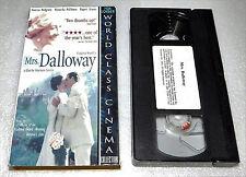 Mrs. Dalloway VHS 1999 Rupert Graves Vanessa Redgrave Drama Recalling Past