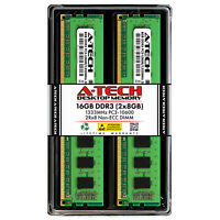 A-Tech 16GB 2x 8GB PC3-10600 Desktop DDR3 1333 MHz DIMM 240pin Memory RAM 16G 8G