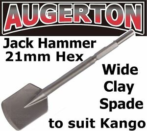 Jack Hammer Square Long Series Clay Spade Chisel. Jackhammer Shovel Suit KANGO