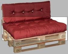 doppler Paletten-Sitzkissen ca.120x80x15cm Dessin Look 833 bordeaux für Paletten