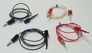New Set Qty 4 Original Heathkit IT-2232 Component Tracer Leads