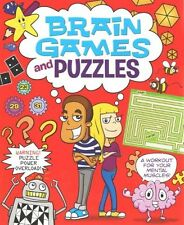 Brain Games and Puzzles (Arcturus Activity), Arcturus Publishing, New Book