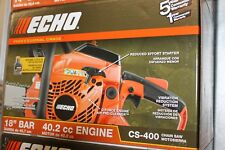 "Echo CS-400 18"" 40.2 CC Engine Gas Powered Bar Chainsaw FREE SHIPPING"
