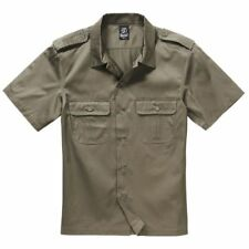 Camicie casual e maglie da uomo verde nessuna fantasia taglia M