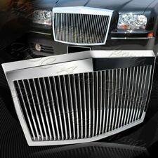 For 2005-2010 Chrysler 300 300C ABS Chrome Vertical Phantom Style Front Grille