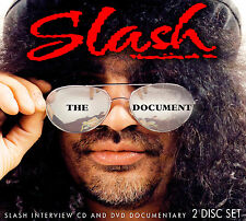 SLASH of GUNS N ROSES New Sealed BIOGRAPHY & INTERVIEWS DVD & CD SET
