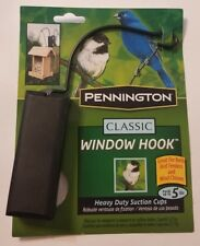 Pennington Classic Window Hook for Bird Feeder or Wind Chimes ▪Holds up to 5 lbs