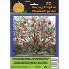 HALLOWEEN SPOOKY SCARY PARTY DECORATIONS PACK 20 HANGING PUMPKIN BAGS