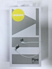 AIAIAI earphone with mic Noise cancellation Brand new WHITE Australian Seller