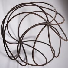 Large Rusty Garden Sphere / Ball Ornament