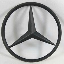 Mercedes Benz Matte Black Trunk Star Rear Badge Emblem 3 Inch 80MM USA SHIP