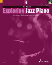 EXPLORING JAZZ PIANO Vol 1 Richards Book & CD*
