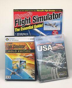 Microsoft Flight Simulator X: Gold Edition (PC: Windows, 2008) LOT
