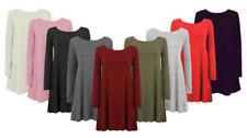 Unbranded Knee Length Scoop Neck Dresses for Women