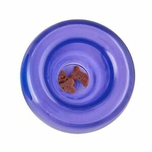 Planet Dog Orbee-Tuff Lil Snoop Interactive Treat Puzzle Dog Toy, Purple