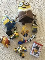 MINIONS: LOT COMPLET XL COLLECTION MODULABLE 17 ARTICLES, PELUCHE - FIGURINES...