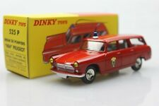 Atlas 525 P Dinky toys 1:43 404 Peugeot Pause  Alloy car models Station wagon