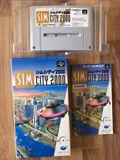 Super Famicom: SIM CITY 2000     (Super nes Japan)