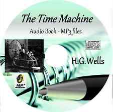 The Time Machine - by H.G.Wells MP3 Audio Book CD
