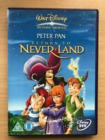 PETER PAN 2 ~ RETURN TO NEVER LAND Walt Disney Animated Classic Sequel | UK DVD