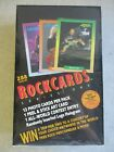 SEALED+MIB+VTG+1991+ROCK+CARDS+SERIES+ONE+TRADING+CARD+PACK+RETAIL+BOX