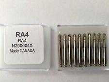 RA4 Premium Carbide Round RA Latch Bur 6 Blades 10pk