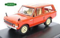 BNIB OO GAUGE OXFORD DIECAST 1:76 76RCL003 Range Rover Classic Masai Red