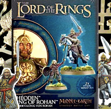 2 New GW KING THEODEN of ROHAN~Games Workshop~LoTR~MIDDLE-EARTH STRATEGY BATTLES
