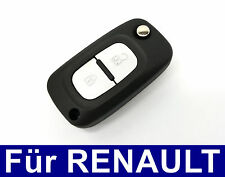 2T Spare FLIP KEY REMOTE CONTROL Case for RENAULT CLIO Mode Twingo