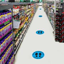 HOT!! 20X PROTECE DISTANCING Floor Decal Safety Floor Sign Keep 6 Feet Away LOT~