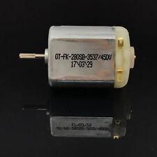 Pequeño DC 3V 5V 6V 7.2V 30000RPM alta velocidad de Juguete Magnético Mini FK-280SB Motor de corriente continua
