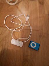Apple Ipod Shuffle 1GB Blue MP3 Player stc