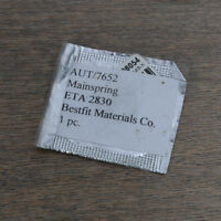 NOS ETA 2830 Mainspring Watch Part New Old Stock Sealed Watchmakers