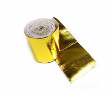 """Intercooler Induction Gold Performance Heat Protection Tape 2"""" x 5m Roll"""