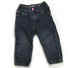 Carter's Denim Blue Jeans Toddler Girls Size 12m - EUC