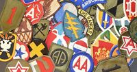 15 ASSORTED US MILITARY PATCH LOT INSIGNIA FASHION JACKET VINTAGE USMC US ARMY