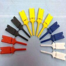 New Best Quality Insulated Probes 5 Colors Probe Grabber Test Clip IC Hook SMD