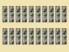 s354 - 20 pezzo Mini illuminazione LED 2,5CM BIANCO CALDO CASE CARRI RC Modelli