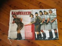Man cave rammstein heavy metal rock concert poster wall hanging poster bar flag