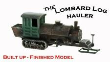 Logging LOMBARD LOG HAULER N scale Logging Model Finished and Detailed 1/160
