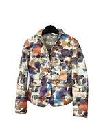 HERNO Puffer Multicolor Jacket Sport Coat Women's 42