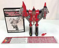Transformers G1 Dinobot SWOOP 100% complete Hasbro  *VINTAGE* 1985