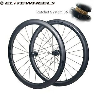 Road Disc Carbon Bicycle Wheelset RD13 Ratchet System 36T Hub Road Cycling Wheel