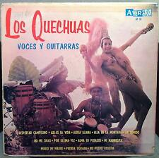 Los Quechuas - Voices Of Guitarras De LP VG AP 58 Vinyl Record
