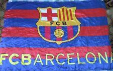 Bandera Bandiera Fahne Flag BARCELONA Size XL Vintage