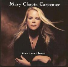 MARY CHAPIN CARPENTER - Time* Sex* Love* (CD 2001) USA Import EXC-NM